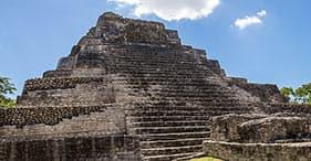 Paseo de lujo en las ruinas mayas de Chacchobén