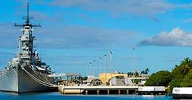 Pearl Harbor y ciudad de Honolulu (traslado al aeropuerto)