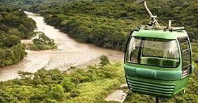 Teleférico y aventura en la selva tropical