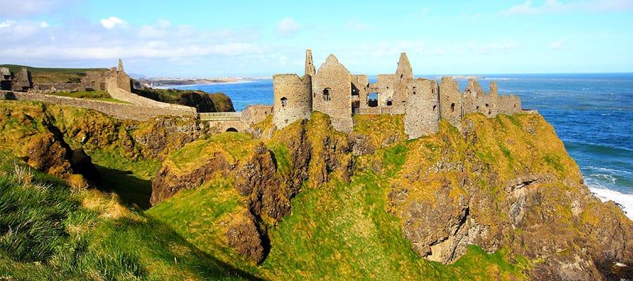Visita el Castillo de Dunluce en tu crucero por Europa