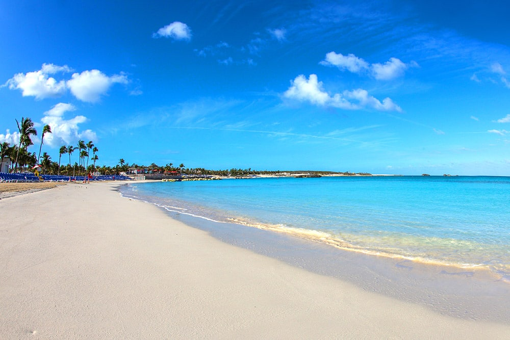 Great Stirrup Cay in the Bahamas