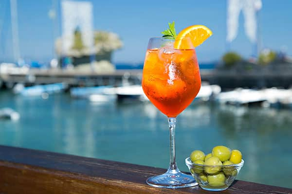 Cruise Recipes to Make at Home: Aperol Spritz