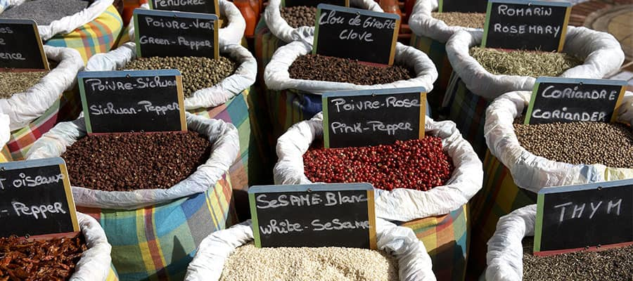Spice Shopping in St. Maarten