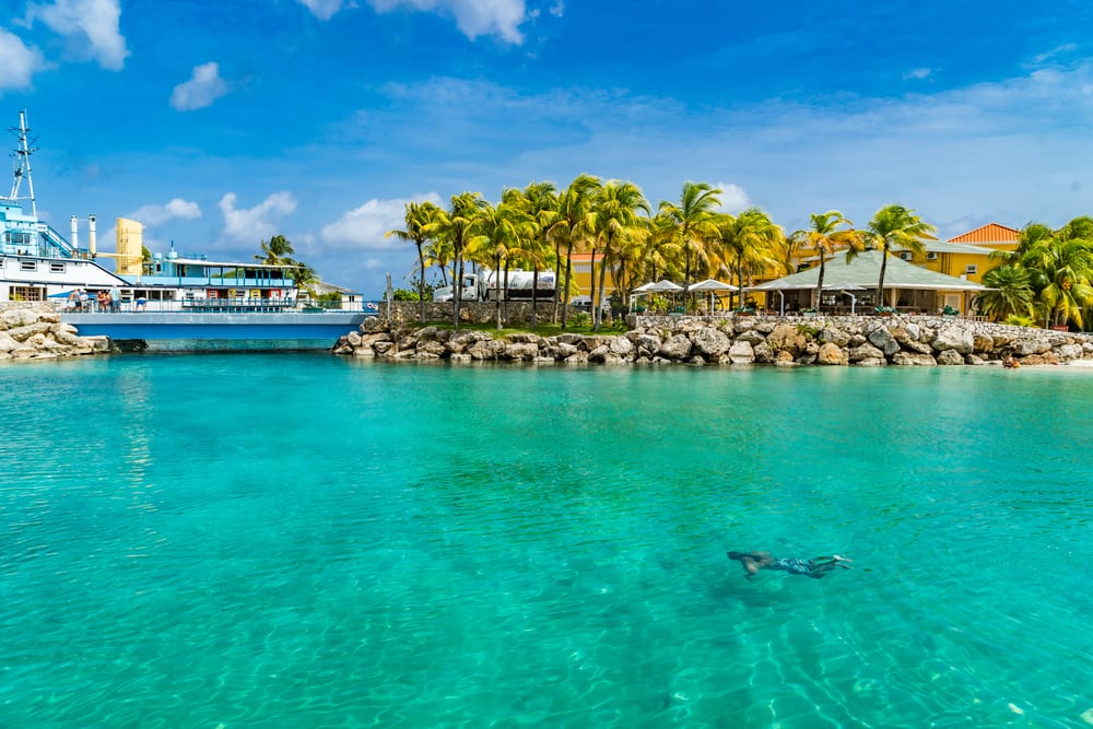 Swim in the Turquoise Waters of Curacao