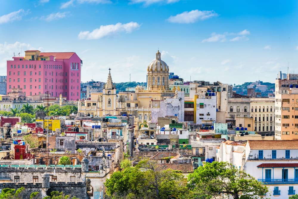 Downtown Havana Skyline