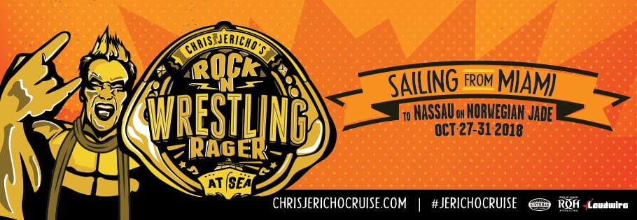 Rock 'N' Wrestling Rager at Sea de Chris Jericho