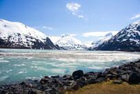 Dia da chegada aérea em Anchorage