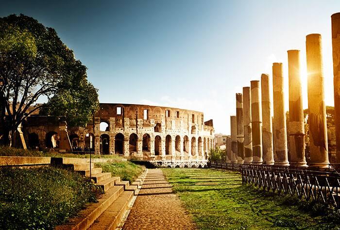 Cruzeiros de Roma para a Itália