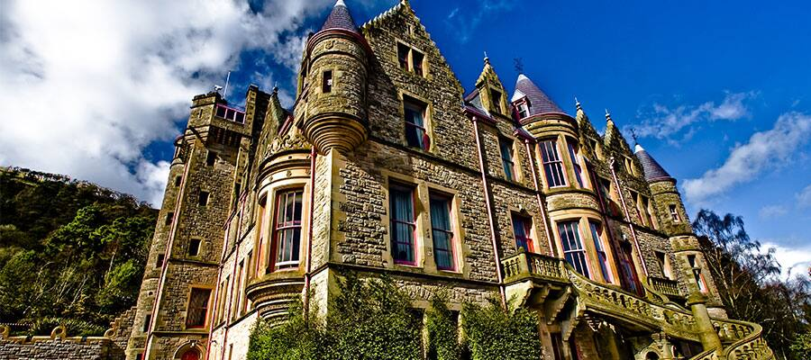 Belfast Castle on your Europe cruise