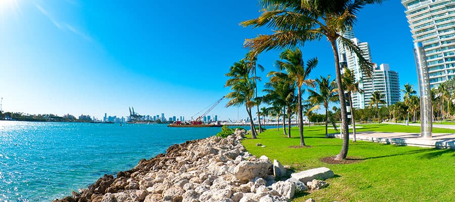 Beautiful days on your Miami cruise
