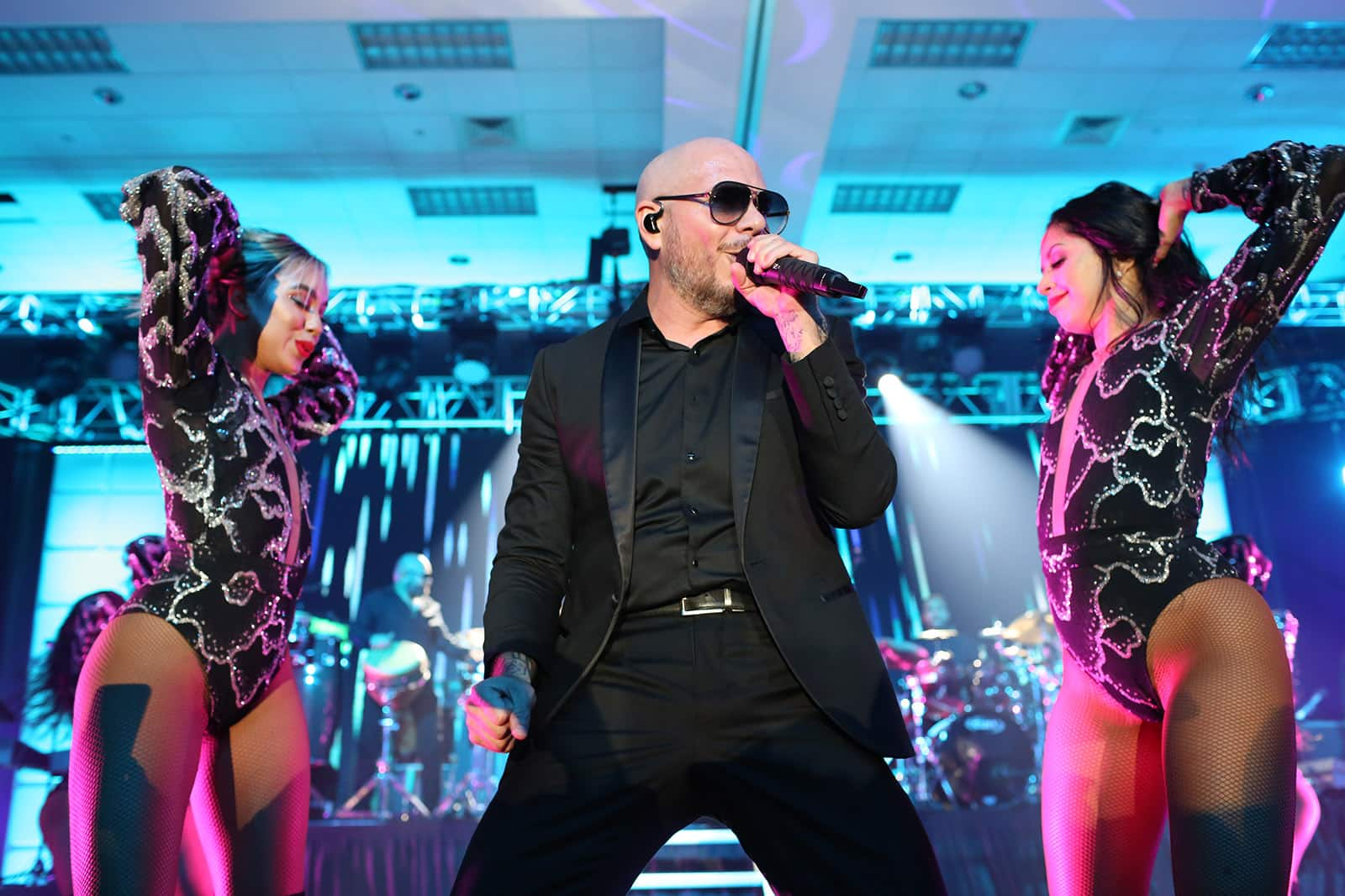 Pitbull Performs at CruiseWorld 2018 Event Hosted by Norwegian Cruise Line