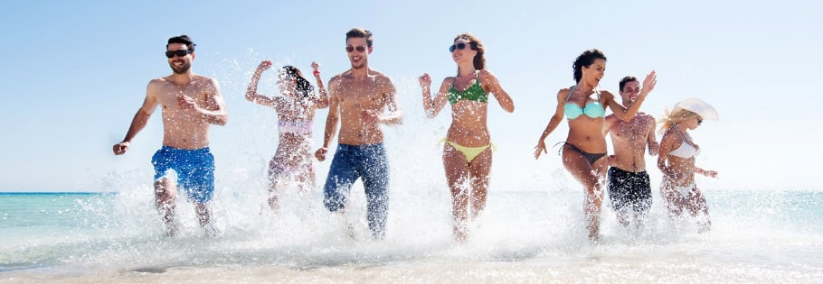 Beach Party des Casinos At Sea