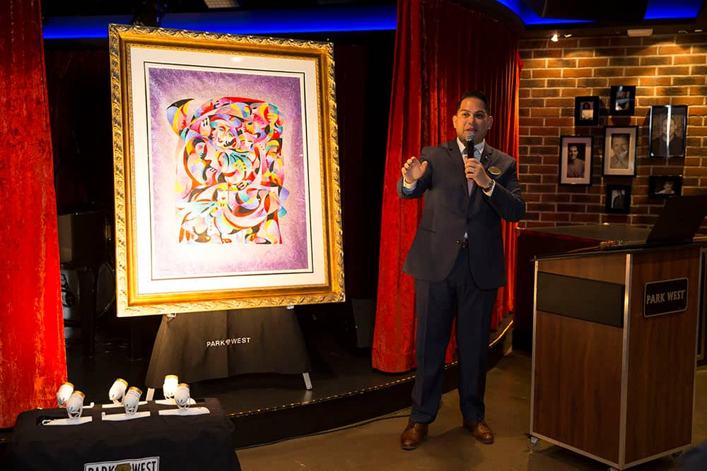 The Art of the Cruise: Q&A with Park West Gallery