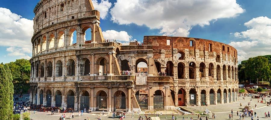 Le colisée lors de votre croisière à Rome