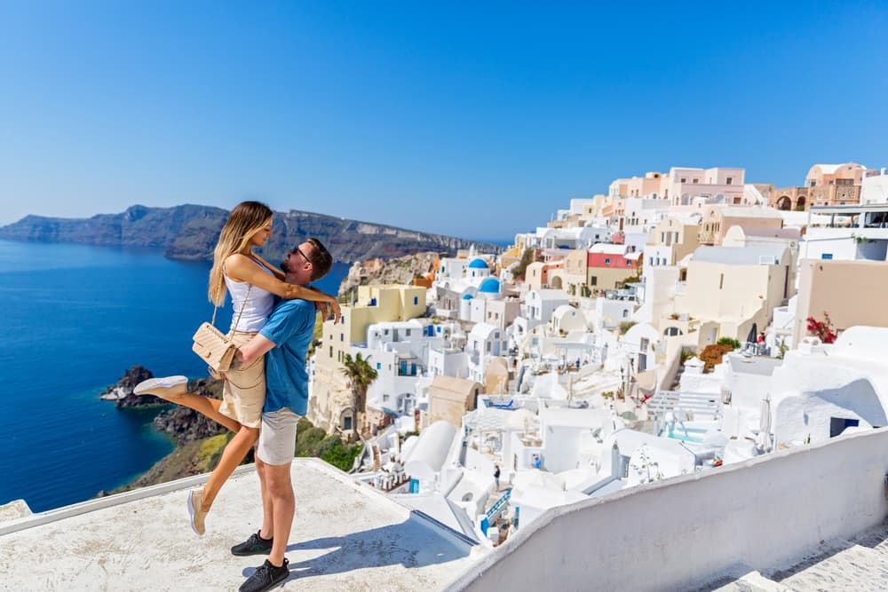 See Santorini on a Mediterranean Honeymoon Cruise