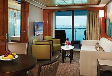 Suites on board Norwegian Dawn