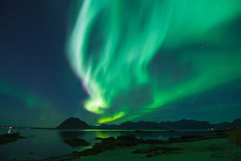 La meilleure période pour admirer les aurores boréales lors d'une croisière en Alaska