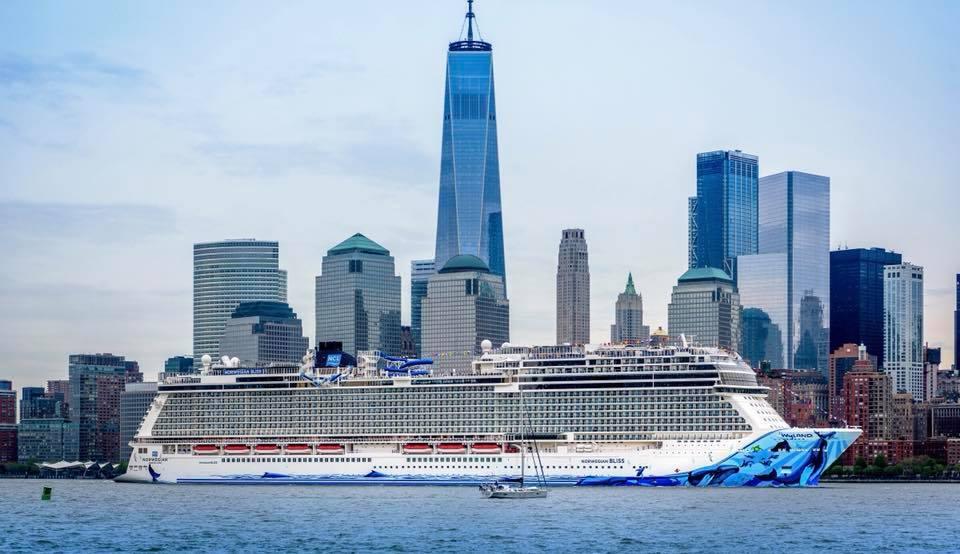 Norwegian Bliss Makes Her U.S. Debut in New York City