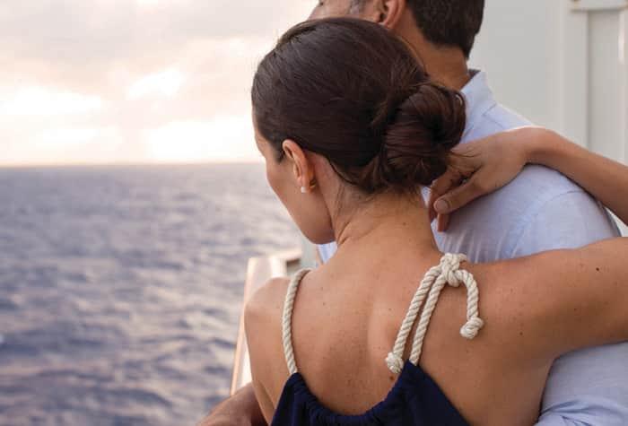 Eheversprechen auf einer Kreuzfahrt erneuern