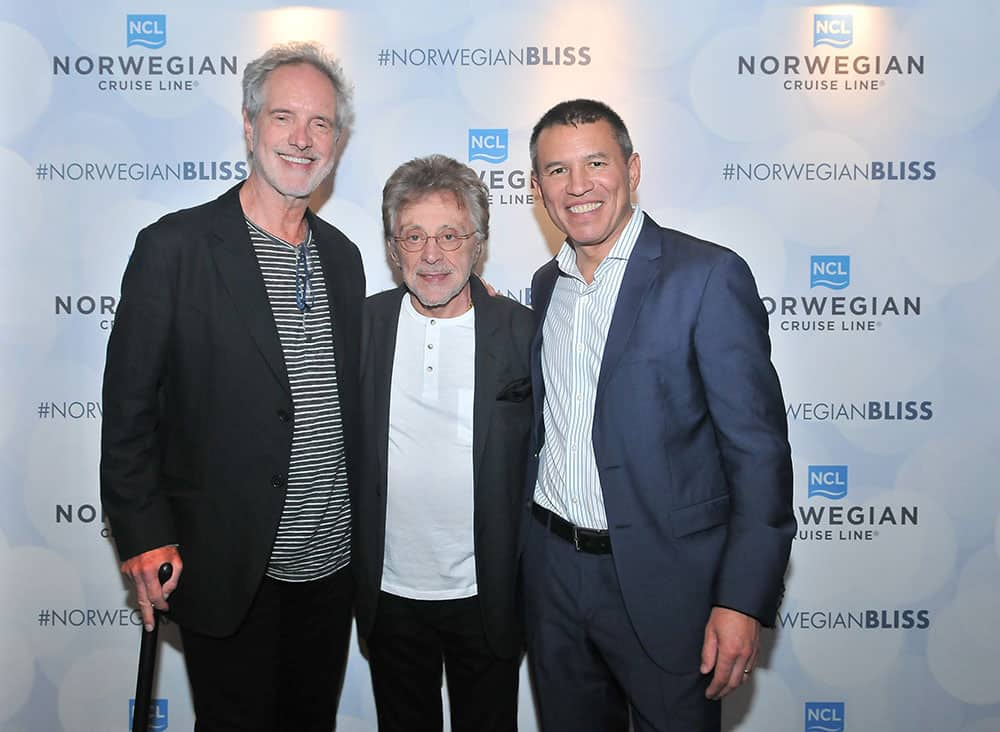 Frankie Valli and Bob Gaudio on Norwegian Bliss