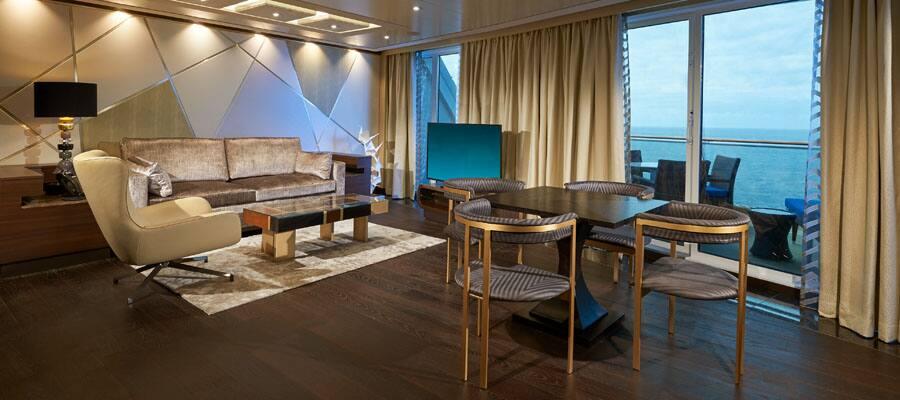 Wohnzimmer der The Haven Suite