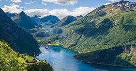 Nordfjordeid, Norwegen