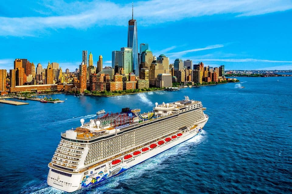 Die Norwegian Escape in NYC
