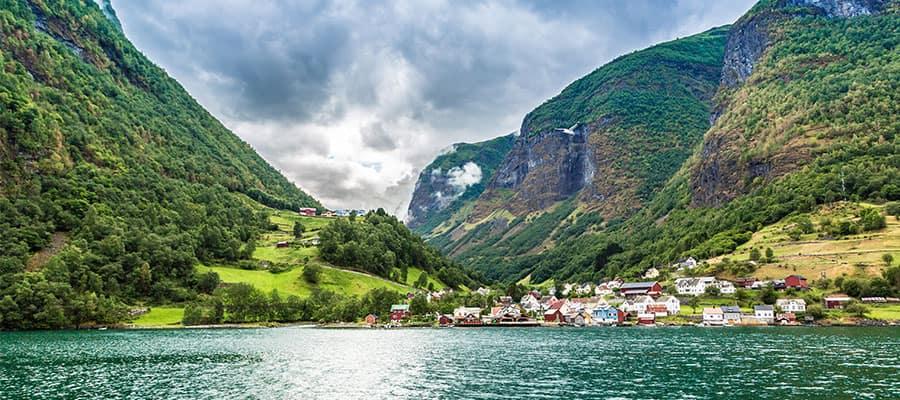 Das Pier der Altstadt auf Ihrer Kreuzfahrt nach Bergen