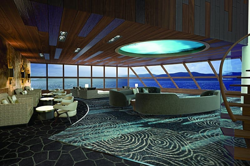 Norwegian Bliss Haven Observation Area