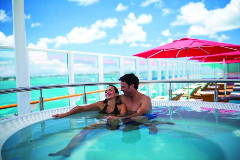 Enjoy Vibe Beach Club on Norwegian Cruise Line Ships