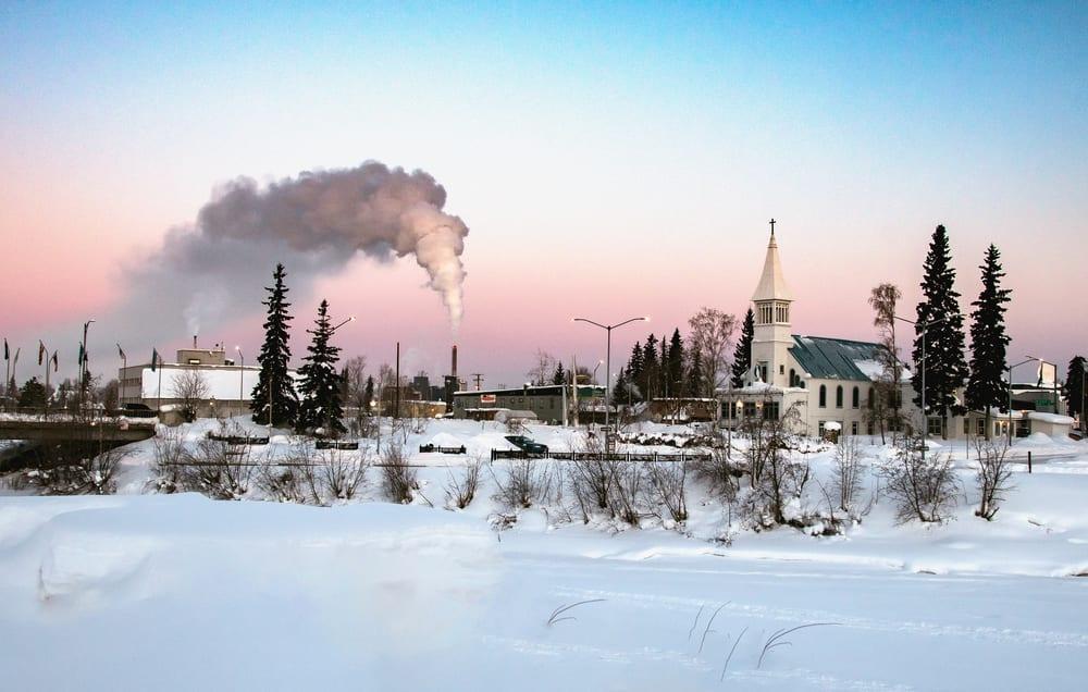 Downtown Fairbanks, Alaska