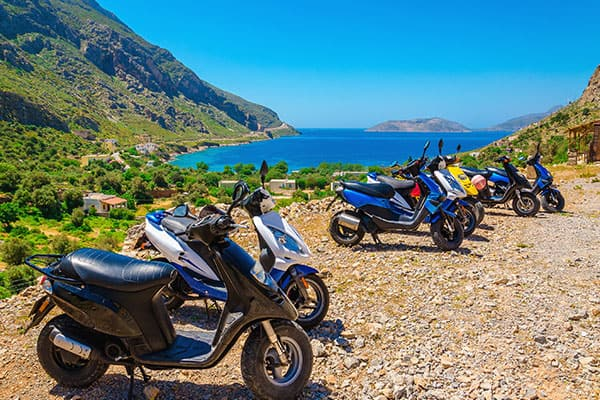 Explore Greece on a Moped