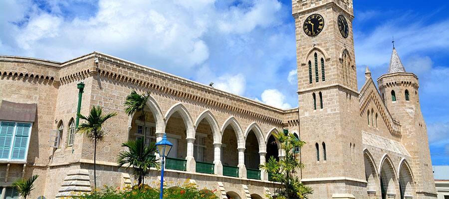 Conoce el Parlamento en Bridgetown, Barbados