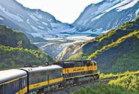 tour en tren por Alaska