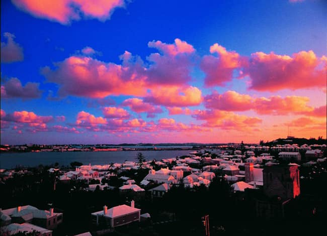 Take in a Bermuda Sunset