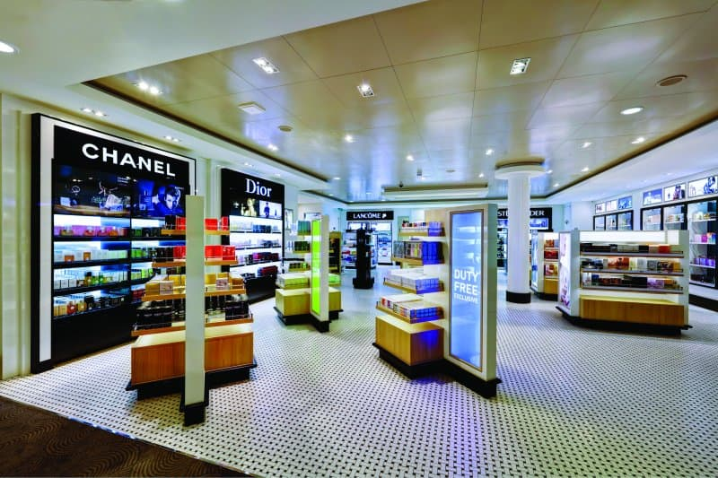Duty Free Shopping on Norwegian Cruise Ships