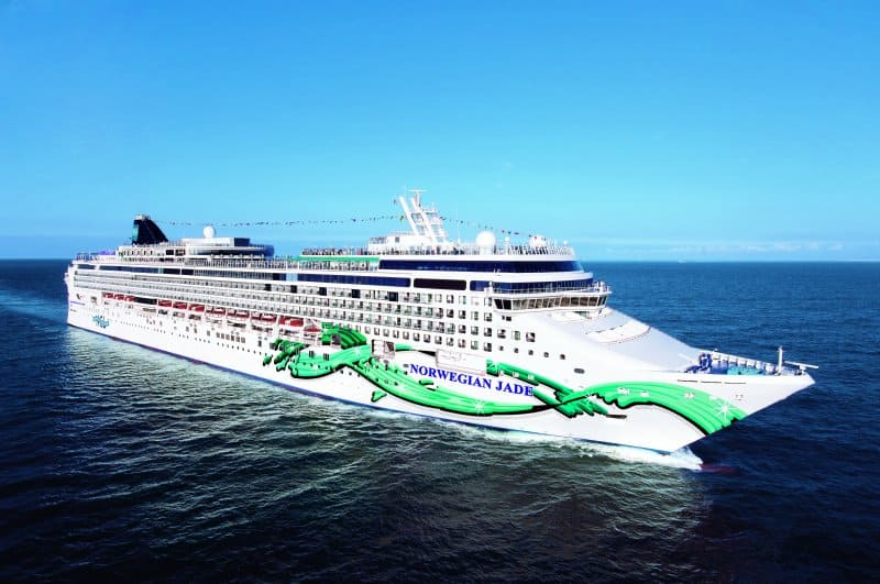 Norwegian Jade Asia Cruises