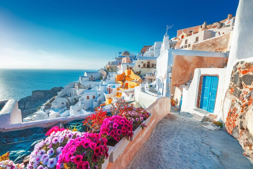 Cruise to Santorini, Greece