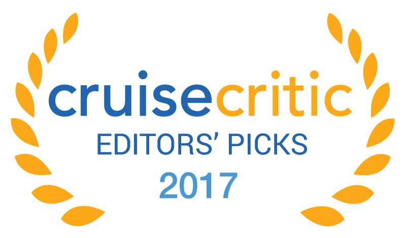 Awarded Best Nightlife 2017 by Cruise Critic