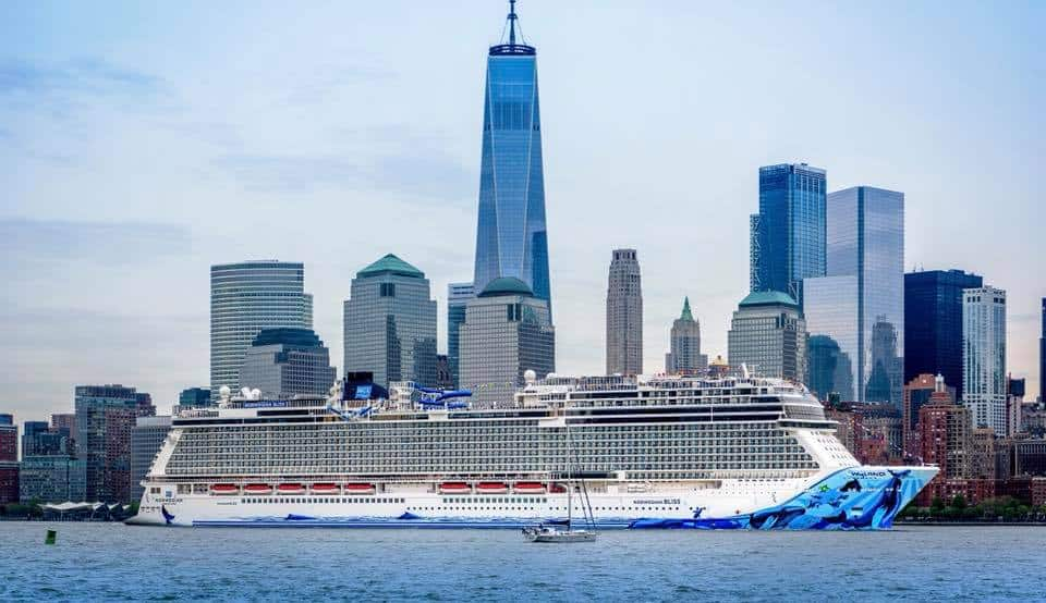 Norwegian Bliss Makes Her U.S. Debut in New York City