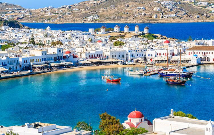 Unmatched views in Mykonos