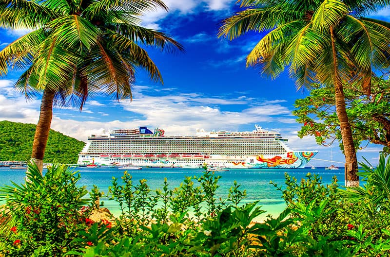 Instagrammable Spots on a Caribbean Cruise