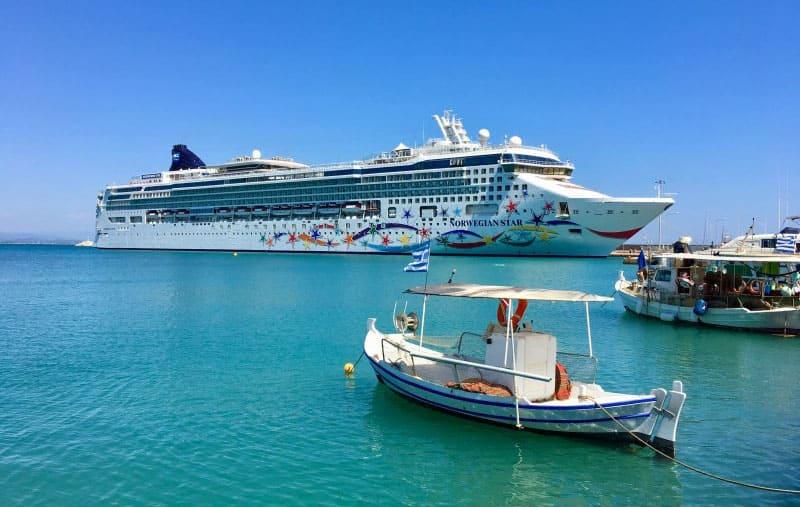 Norwegian Star Dry Dock Video