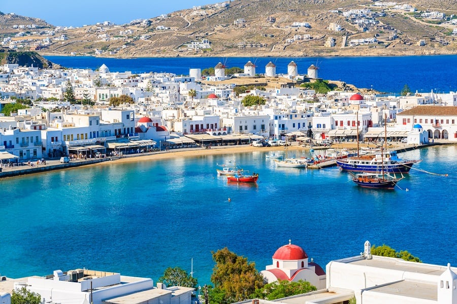 Visit Mykonos on a Greek Isles Cruise with Norwegian