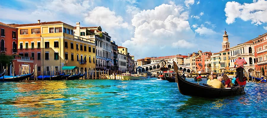 Visit Venice on our Europe cruises