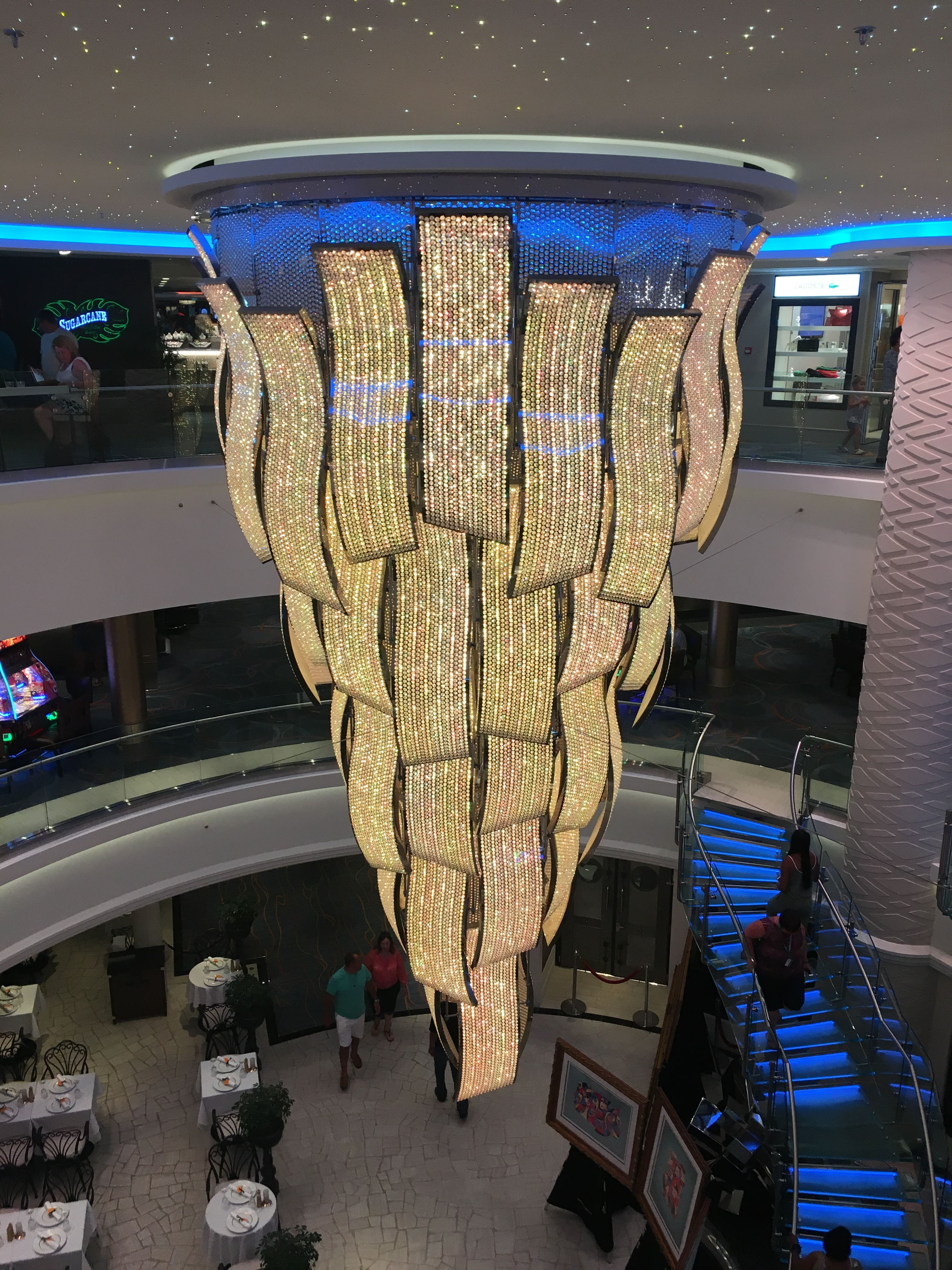 Norwegian Escape Chandelier