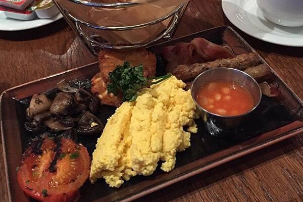 Gourmet breakfast in O'Sheehans