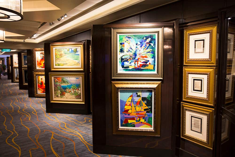 Explore Art on Norwegian Cruise Line Ships with Park West Gallery