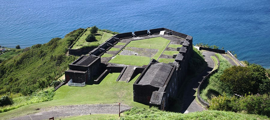 Cruise to Brimstone Hill Fortress in St Kitts
