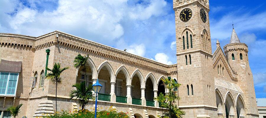 View Parliament in Bridgetown, Barbados